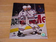 Mark Messier & Adam Graves Officially LICENSED 8X10 Photo FREE SHIPPING 3/morej
