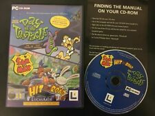 Día del tentáculo + Sam & Max Hit the Road PC CD ROM Dott Maniac Mansión II