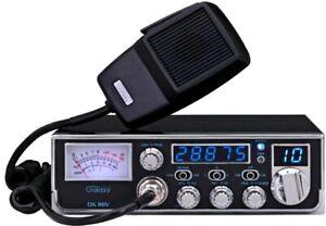 Galaxy DX86V 10 Meter Amateur Ham Mobile Radio AM SSB PA Dual Mosfet Finals New