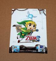 The Legend of Zelda Phantom Hourglass Rare Sticker Nintendo DS lite Link