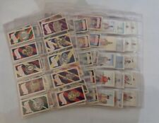 100x Trade cards Vintage 1960s Army Badges & Uniforms