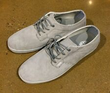 DVS El Porto Size 13 Grey Suede Boat Skate Shoes Sneakers