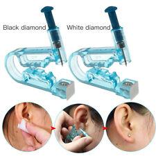 Ear Piercing Pierce Gun Stud Tool Disposable Ear Mouth Earring Kit Piercer Studs