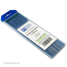"1200 PCS (120 Packs) TIG Welding Pure Tungsten Electrodes 1/16"" x 7"" Green"