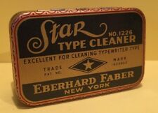 Vintage Star Type Cleaner No.1226 with original cleaner - Retro Home Office