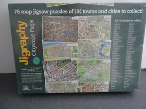 Jigraphy Cityscape Maps Jigsaw Puzzle - Oxford - 1000 Pieces - New & Sealed