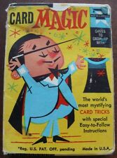 CARD MAGIC WITH FLIP TOP MOVIE 1959 ED-U-CARDS COMPLETE MYSTIFYING CARD TRICKS
