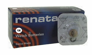 Renata 391 Argento 1.55v Batteria Orologio Ricambi SR1120W