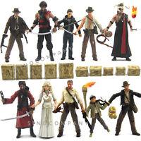 "10PCS Indiana Jones Raiders Of The Lost Ark TEMPLE OF DOOM 3.75"" Figures"