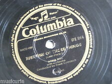 78rpm DORIS DAY just one of those things / shanghai