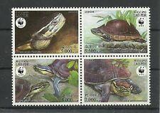 WWF 2004-Schildkröten/ Laos MiNr 1927/30 ** VB
