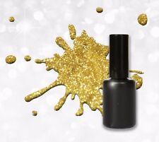 15ml UV Polish Gel Glitter Gold - Soak off - Gel Lack