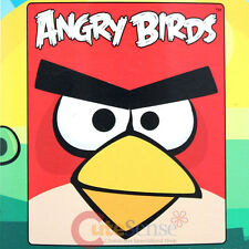 "Angry Birds Red Bird  Big Face Microfiber Plush Throw Blanket : Twin 50""x60"""