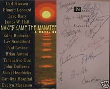Naked Came the Manatee~Signed 13X~Carl Hiaasen~Dave Barry+11 Others
