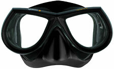 Scuba Diving Dive Mares Star Liquidskin Mask FreeDive Spear Fishing NEW Black