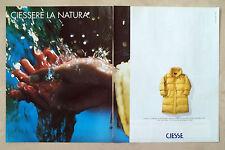 C372-Advertising Pubblicità-1998- CIESSE CAPPOTTO OXFORD IN MICROFIBRA