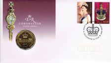 2003 QUEEN ELIZABETH *50 CENT* GOLDEN JUBILEE PNC in CLEAR PLASTIC ENVELOPE.