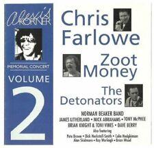 Chris Farlowe Zoot Money(CD Album)Alexis Korner Memorial Concert Vol 2-New