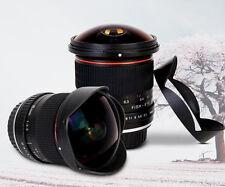 8mm F/3.5 Ultra Wide Fisheye Lens for Canon EOS 1200D 760D 750D 700D 70D 60D APS