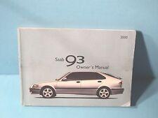 valuemanualsrus ebay stores rh ebay com 2000 saab 9-3 owner's manual pdf Saab 9-3 Custom