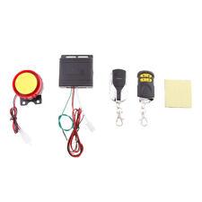 Sistema de Seguridad Sirena Antirrobo para Motocicleta 12V Control Remoto