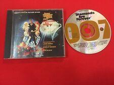 DIAMONDS ARE FOREVER JAMES BOND 007 BO BANDE SON ORIGINALE DU FILM BON ÉTAT CD