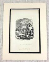 1885 Antico Stampa George Cruikshank Illustrazione Drunken Soldati Calvary Art