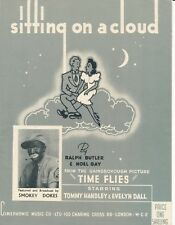 Sitting On A Cloud - Smokey Dokes - From the Film Time Flies - 1943 Sheet Music