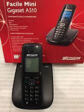 Facile Telecom mini Gigaset A510 cordless  DECT nero