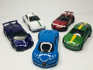 Hot Wheels 5 Pack HW Exotics Bugatti chiron Lamborghini Jaguar Lotus Aston