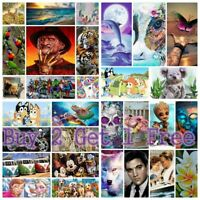 DIY 5D Diamond Painting Embroidery Cross Craft Stitch Arts Kit Mural Home Decor
