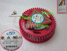 New HD4870 HD5970 HD5870 graphics/video card Fan CF1275-B30H-C003 12V 1.0A 4-Pin