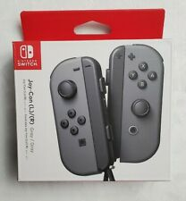 NEW OEM ORIGINAL Joy-Con (L/R) Wireless Controllers for Nintendo Switch - Gray