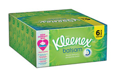 Kleenex Balsam Tissues 6 Pack - With Soothing Protective Balsam