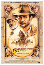 Indiana Jones and the Last Crusade - Movie Poster Print