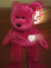 TY BEANIE BABY RARE RETIRED VALENTINA 1998 MIS-SPELLED TAG BRAND NEW WITH TAG