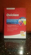 NEW SEALED in box QUICKEN DELUXE 2018 2-YEAR MEMBERSHIP included WINDOWS/MAC