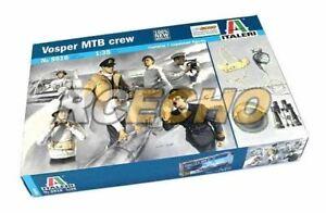 ITALERI Military Model 1/35 Figure Vosper MTB crew Scale Hobby 5616 T5616