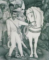 Diego Rivera Zapata Poster Reproduction Paintings Giclee Canvas Print