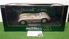 JAGUAR  C-TYPE 1951 bronze au 1/18 AUTOart 73502 voiture miniature de collection