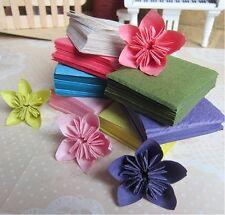 50 sheets Crumpled Paper Kawasaki Rose Origami paper 10cm x 10cm OR026