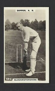 PHILLIPS - CRICKETERS (BROWN) - #72C DIPPER, A E, GLOUCESTERSHIRE