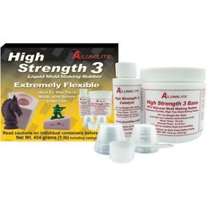 Alumilite High Strength 3 Liquid Mold Making Rubber 1lb Pink