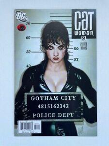 Catwoman 51 9.6 Near Mint+ Rare DC Adam Hughes GGA Modern Key Lost Numbers