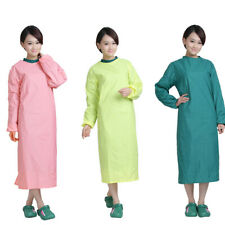 Surgical Scrub Gown Reusable Operating Coat Tops Isolation Surgeon Medical Gown