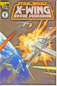 Star Wars X-Wing Rogue Squadron #1/2 Platinum DarkHorse Wizard Exclusive CoA VF