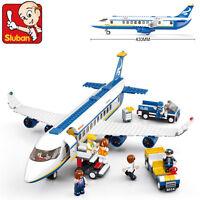0366 Sluban MINI Blocks DIY Kids Building Educational Toy Puzzle Airbus Airplane