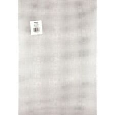 """Darice 33029 Plastic Canvas 7 Count 12""""X18"""" Clear NEW"""