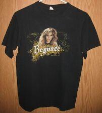 Beyonce - The Beyonce Experience World 2007 Tour Concert T-Shirt (S) Black Anvil