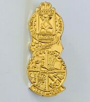 Trentham Masonic Lodge No.130 Victoria 1988 Freemason Large Pin Badge Rare (R9)